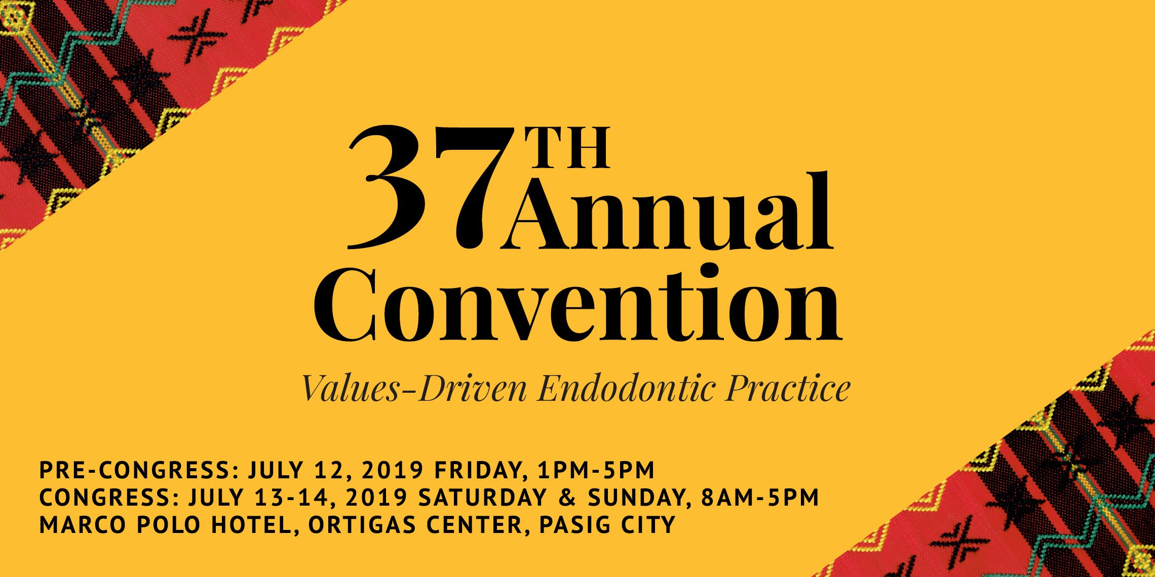 ESP 37th Annual Convention 2019 | Endodontic Society of the Philippines